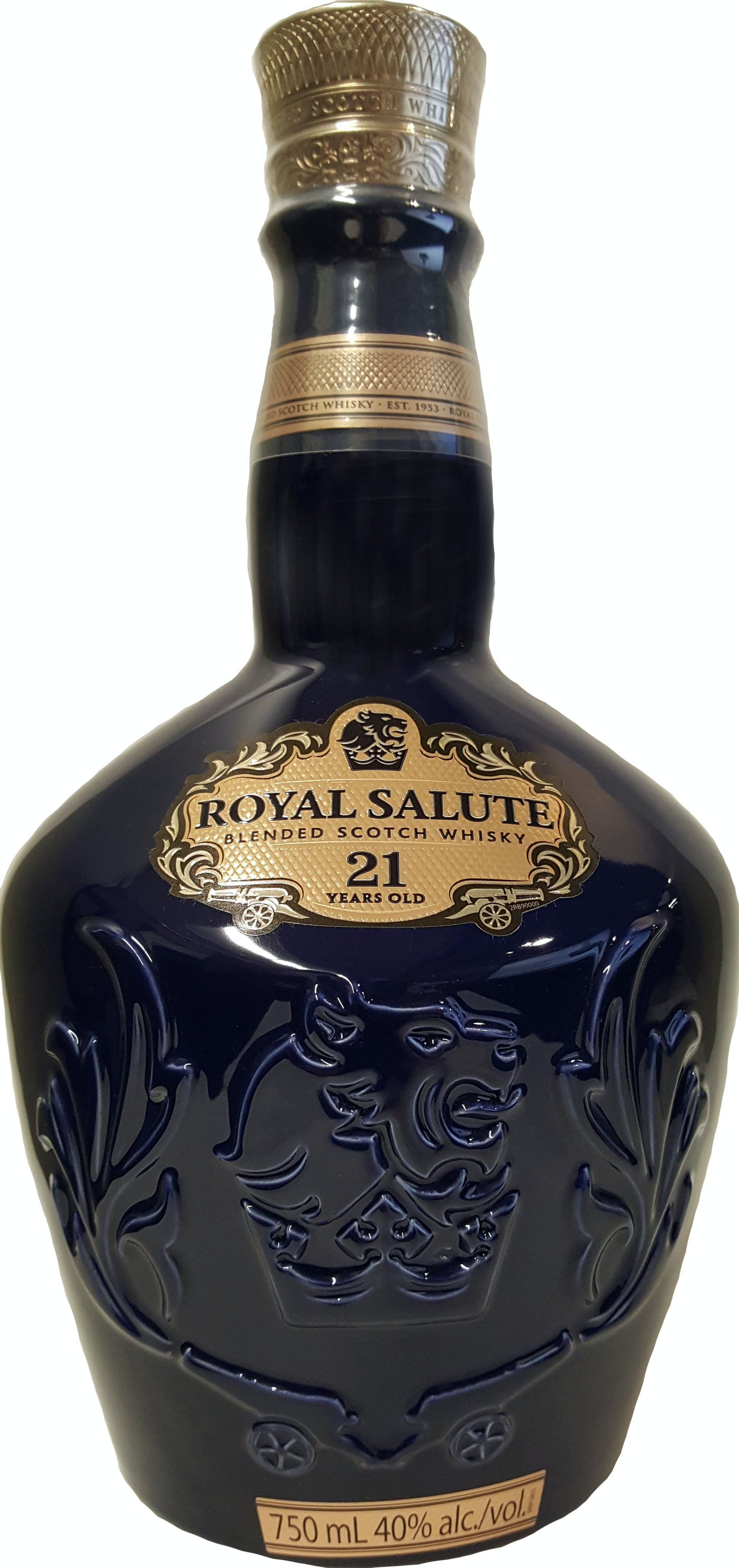 f2348b7842c4 Chivas Regal Royal Salute Blended Scotch Whisky 21 year old - Canal's of  Berlin