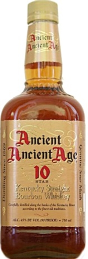 8bde3e3c3ad Ancient Age Ancient Ancient Age 10 Star Kentucky Straight Bourbon Whiskey 6  year old 1.75L