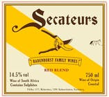 AA Badenhorst Family Wines  Secateurs Red Blend 2011