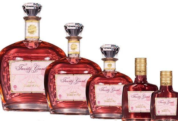 Twenty Grand Vodka Rose 375ml