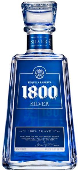 1800 tequila silver tequila 1 75l argonaut liquor