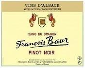 Francois Baur Sang du Dragon Pinot Noir 2015