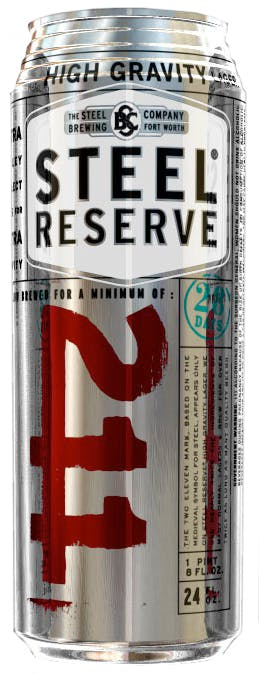 Steel Brewing Company Steel Reserve 211 High Gravity Lager 12 Pack