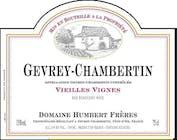 Domaine Humbert Frères Gevrey Chambertin Vieilles Vignes 2015