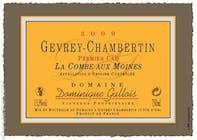 Domaine Dominique Gallois Gevrey Chambertin La Combe Aux Moines 2015