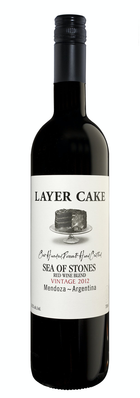Layer Cake Sea Of Stones  Sea Of Stones Red