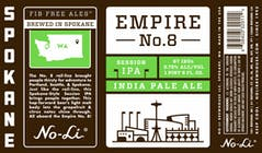 No-Li Brewhouse Empire No. 8 Session IPA 22oz Bottle