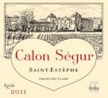Château-Calon-Ségur Saint Estèphe 2011