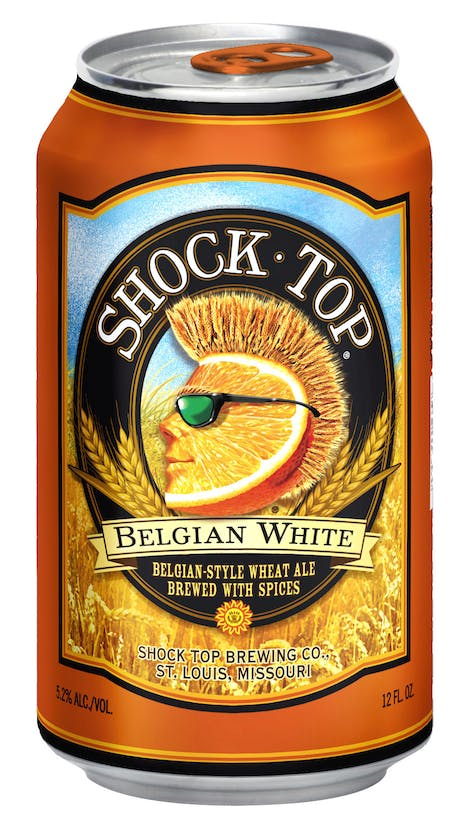 Shock Top Belgian White 15 pack 12oz Can