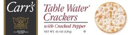 Carr's Table Water Crackers With Cracked Pepper 750ml
