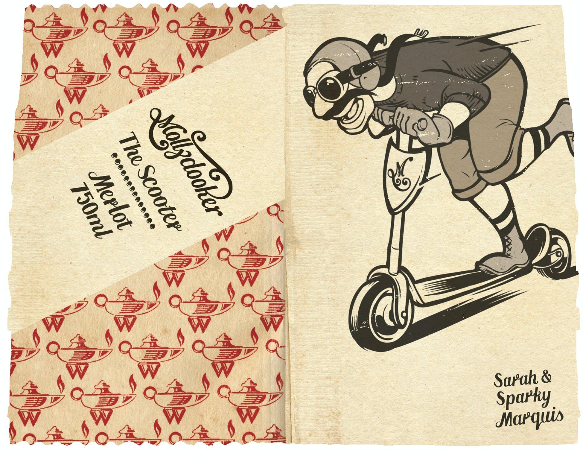 Mollydooker The Scooter Merlot & Franny Lew Wine u0026 Liquor pezcame.com