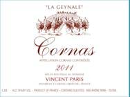 Domaine Vincent Paris Cornas La Geynale 2013
