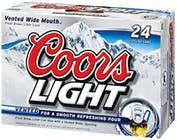 Coors Light 24 pack 12oz Can