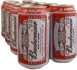 Budweiser Beer 12 pack 355ml Can