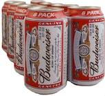 Budweiser Beer 12 pack 355ml Can