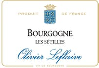 Olivier Leflaive Bourgogne Blanc Les Sétilles 2016