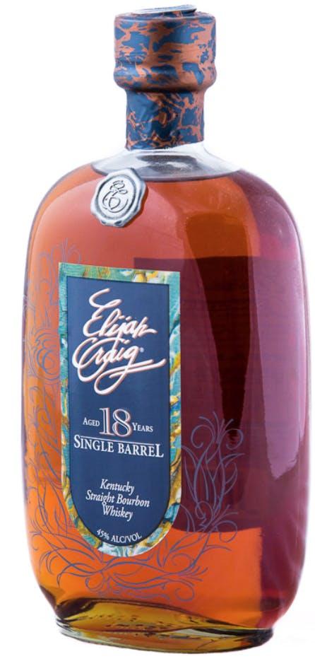 Efterstræbte Elijah Craig Single Barrel Kentucky Straight Bourbon Whiskey 18 JO-32