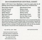 Calera Central Coast Chardonnay 2014