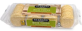 Sesmark Rice Thins - Brown Rice 3.5oz Box
