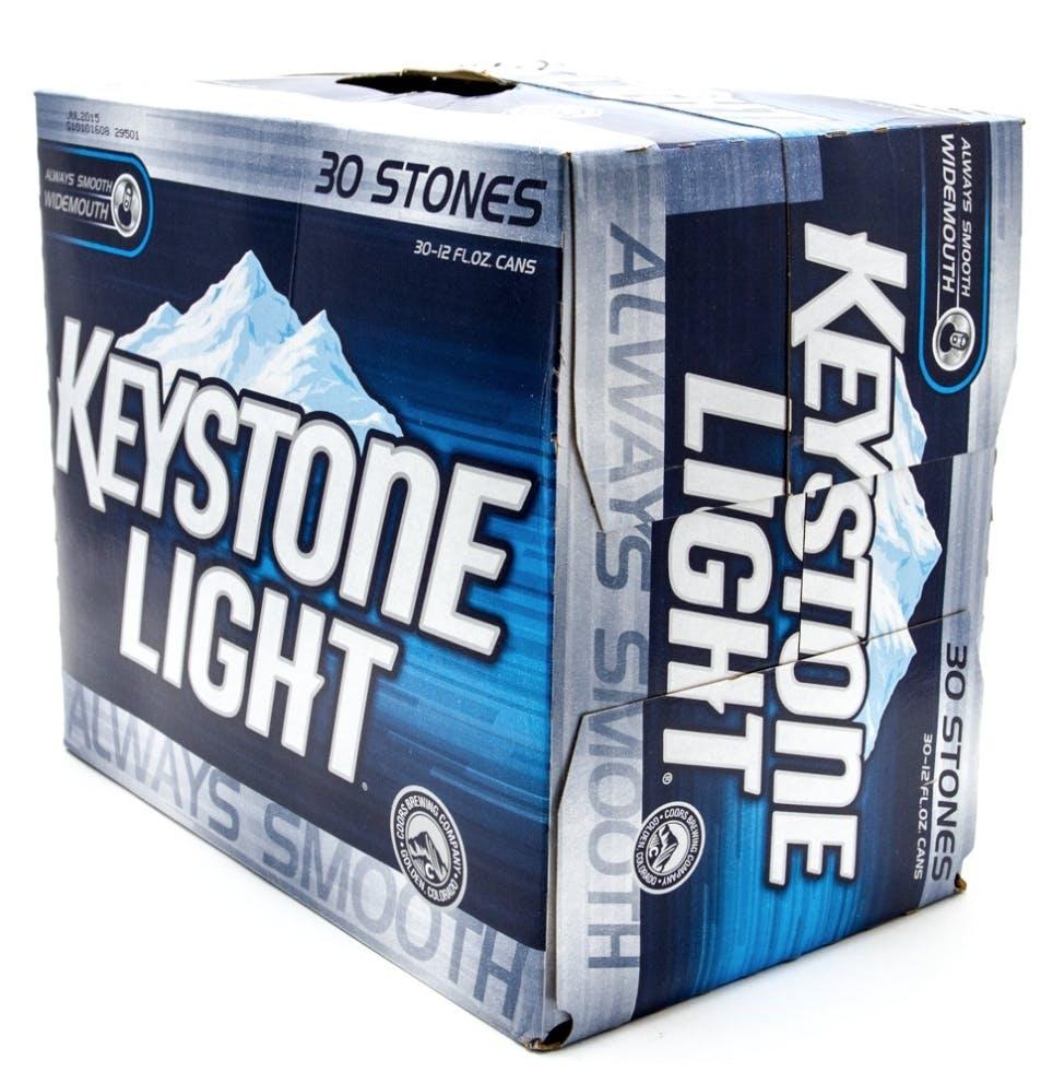 Coors Keystone Light 30 Pack 12oz