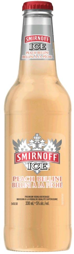 Smirnoff Ice Peach Bellini 24oz Bottle