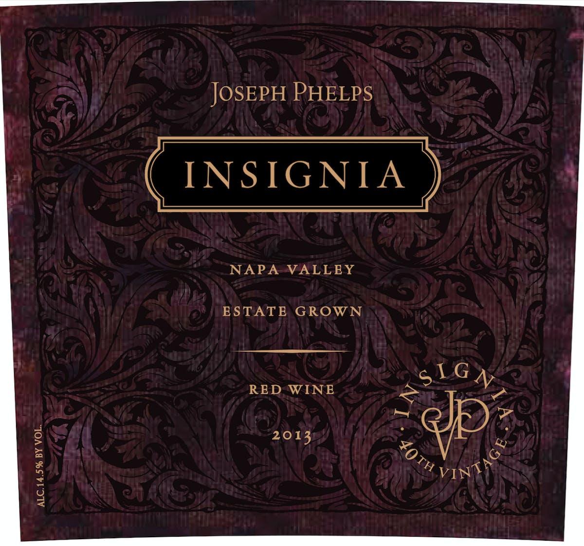 Joseph Phelps Insignia 2013 The Grape Tray