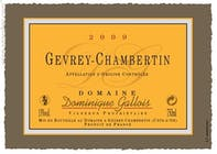 Domaine Dominique Gallois Gevrey Chambertin 2015