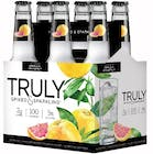 Truly Spiked & Sparkling Water Grapefruit & Pomelo 6 pack 355ml