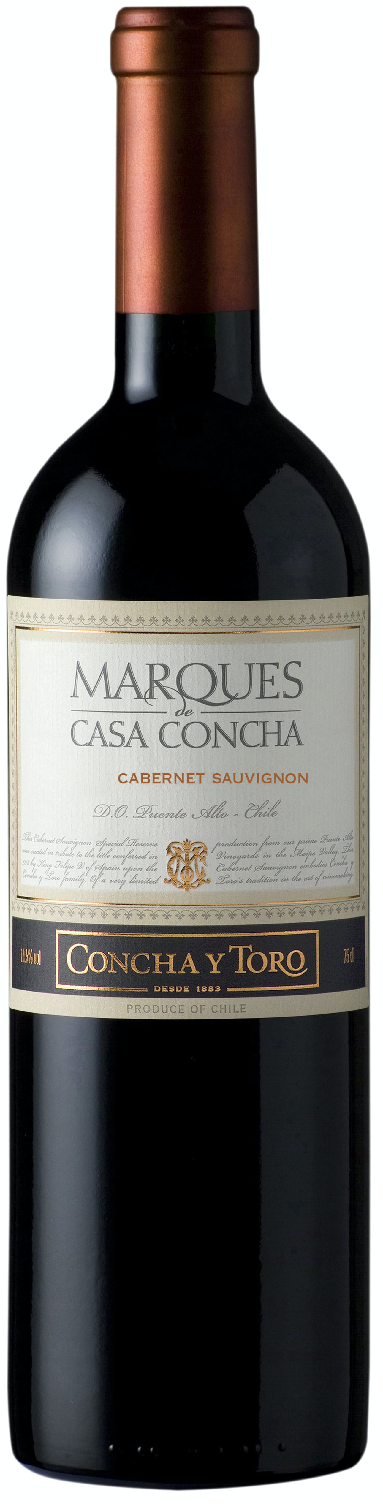 Concha Y Toro Marques De Casa Cabernet Sauvignon 2015