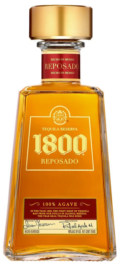 1800 tequila reposado tequila 1l argonaut liquor