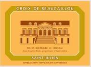 Château-La-Croix-de-Beaucaillou Saint Julien 2014
