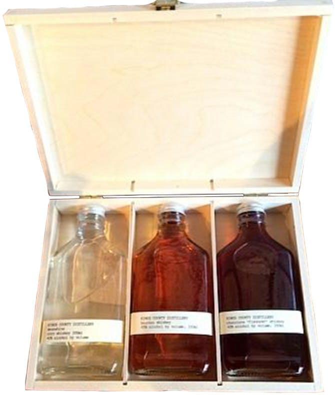 Kings County Distillery Whiskey Gift Set 3 pack 200ml