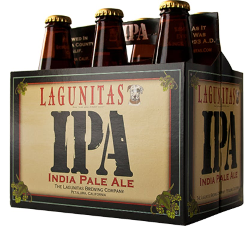 Lagunitas IPA 6 pack 355ml Bottle