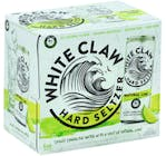 White Claw Hard Seltzer Natural Lime 6 pack 355ml