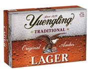 Yuengling Traditional Lager 24 pack 355ml Can