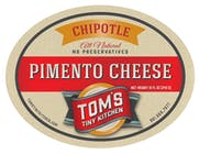Tom's Tiny Kitchen Pimento Cheese Chipotle 750ml