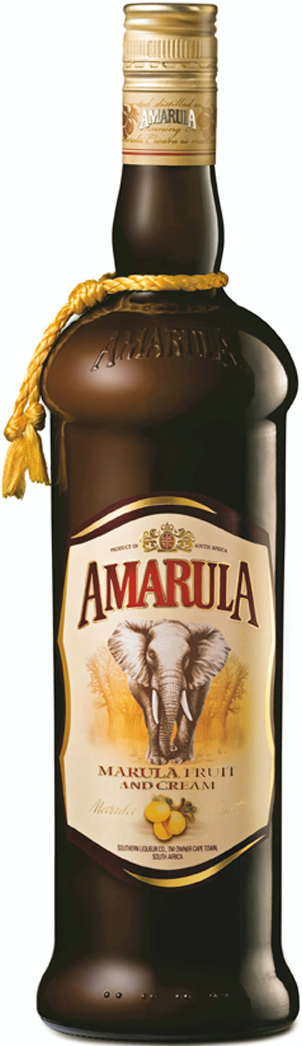 Amarula Marula Fruit Cream Liqueur, South Africa: