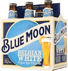 Blue Moon Brewing Company Belgian White 6 pack 12oz