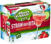 Budweiser Bud Light Lime Straw-Ber-Rita 12 pack 8oz Can