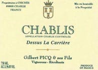 Gilbert Picq Chablis Dessus La Carriere 2015