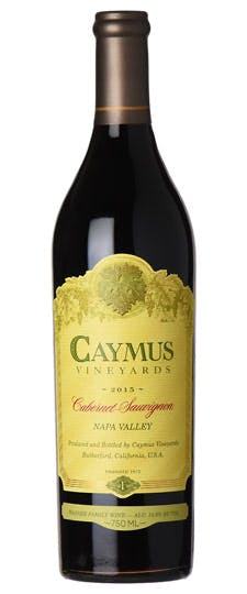Caymus Napa Valley Cabernet Sauvignon 2015 The Grape Tray