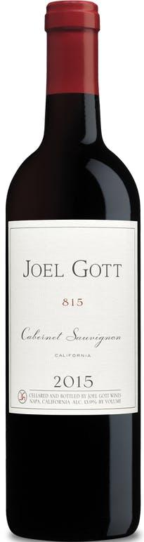 Joel Gott 815 Cabernet Sauvignon 2015