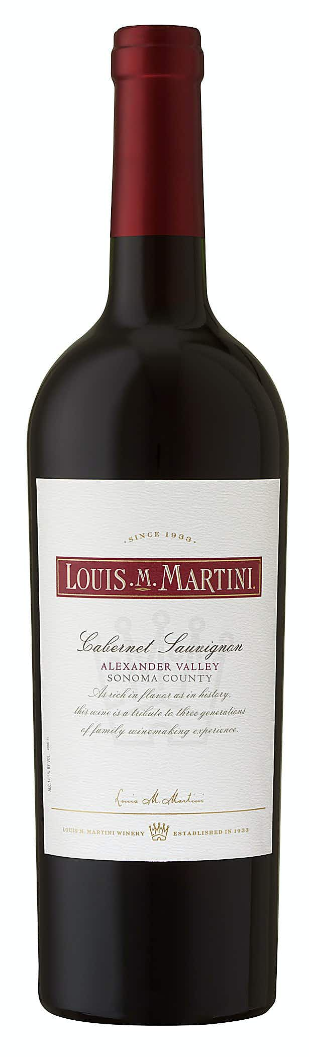 Louis M. Martini - Louis M. Martini Cabernet Sauvignon
