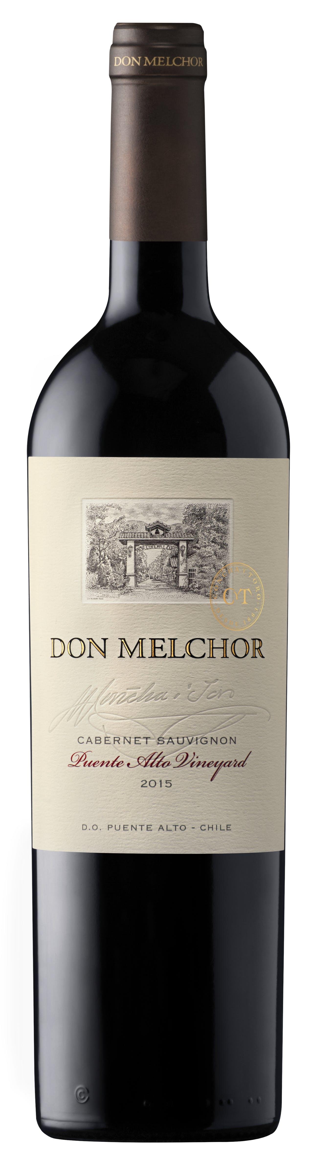 Concha Y Toro Don Melchor Cabernet Sauvignon 2015