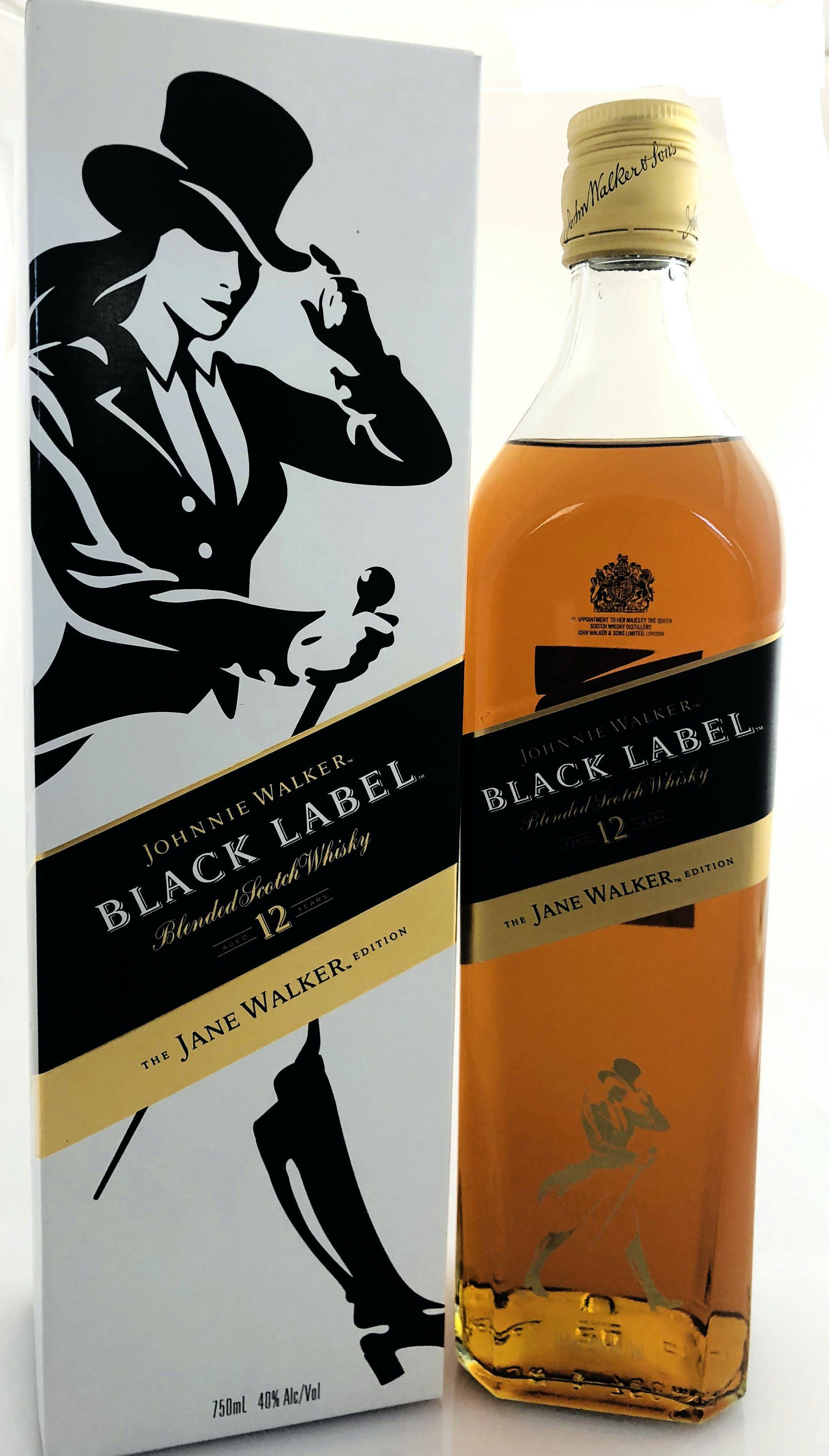 Johnnie Walker The Jane Walker Edition Black Label 12 Year Old