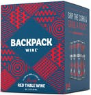 Backpack Wine Snappy Red Wine 4 pack 250ml
