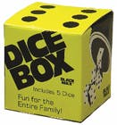 True Fabrications Twine Black Max Dice Box