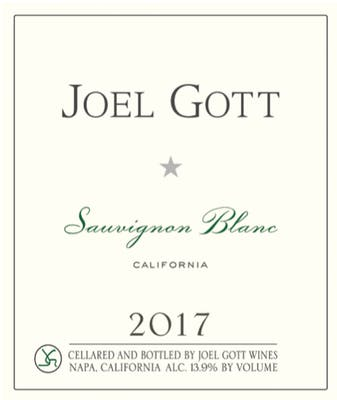 Joel Gott California Sauvignon Blanc 2017