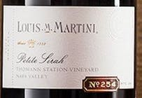Louis M Martini Cellar No. 254 Thomann Station Vineyard Petite Sirah 2012