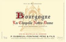Domaine Dubreuil Fontaine Bourgogne La Chapelle Notre Dame 2016